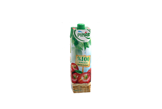 %100 Apple Juice 1 lt