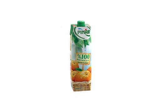 %100 Orange Juice 1 lt