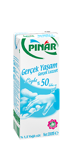 Pınar Light Süt 200 ml